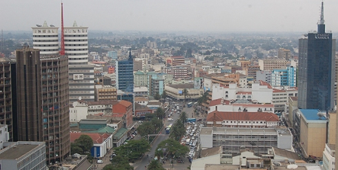 The untold story of Africa: This is Nairobi, the capital city of Kenya.